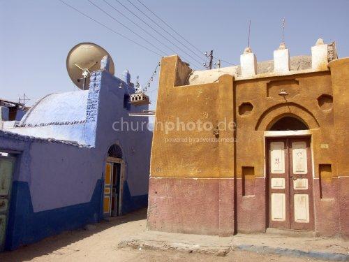 Nubisches Dorf