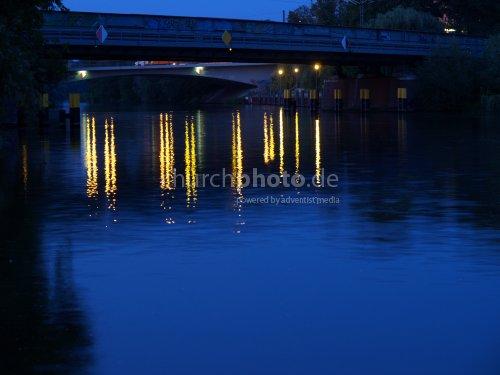 Nightlights on water