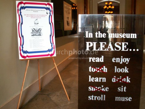 Museumsregeln