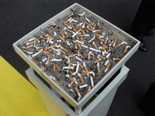 The big ashtray
