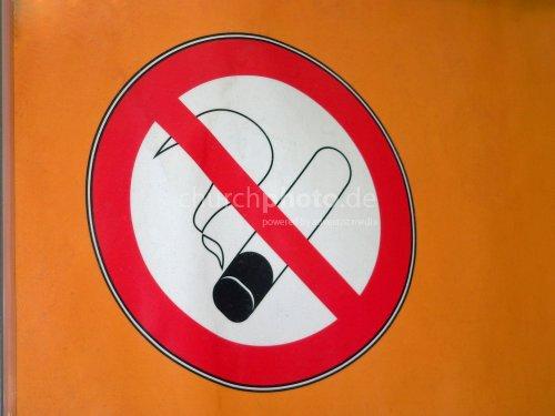 No smoking - Rauchverbot