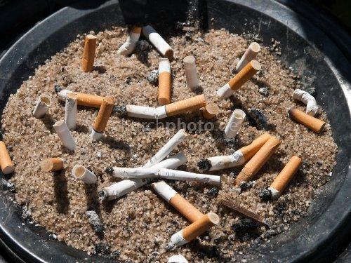 Cigarette cemetery