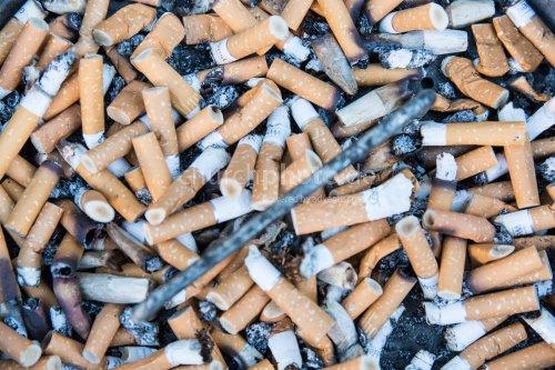 Zigarettengrab