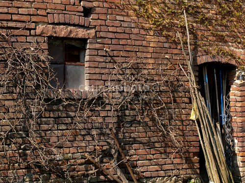 Alte Hauswand