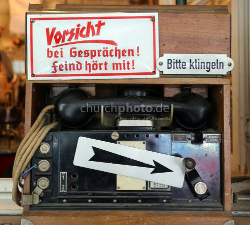Altes Telefon WW2