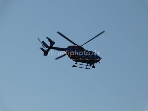 Polizei-Helicopter