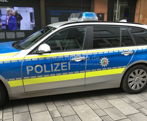 Einsatzwagen der Polizei (3er BMW)