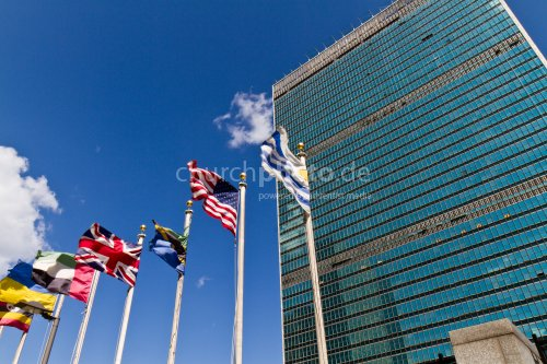 UN building in New York