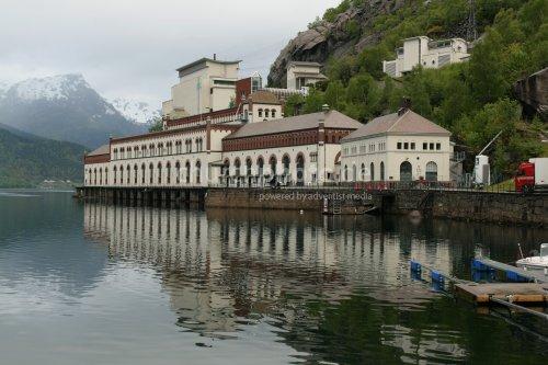 Altes Wasserkraftwerk