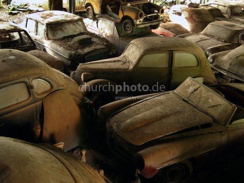 Autofriedhof, car cemetery