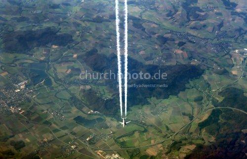 Luftkreuzung