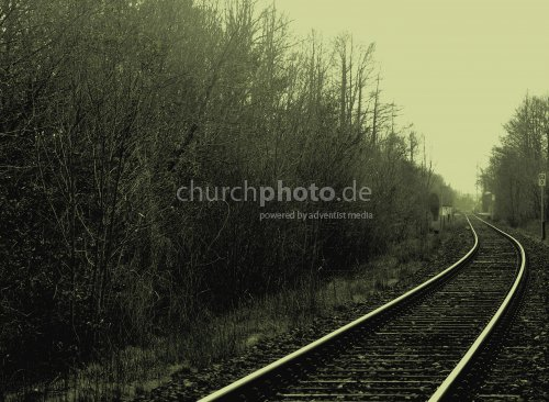 Where did the train go ?