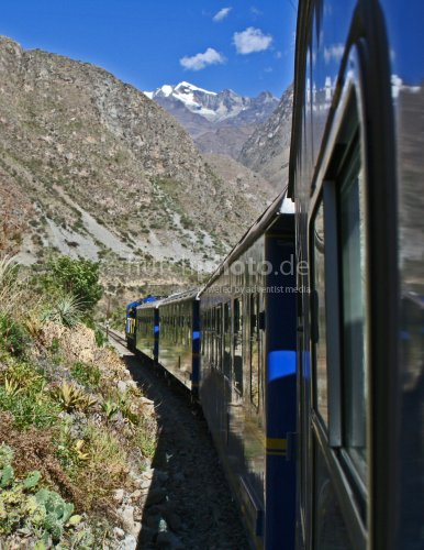 The Andes by Rail