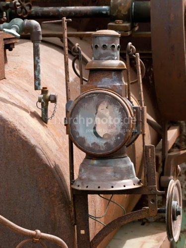Historische Lokomotive