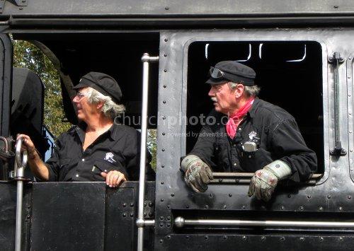 Lokführer, train driver