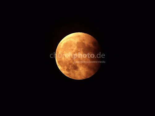 Roter Mond - red moon