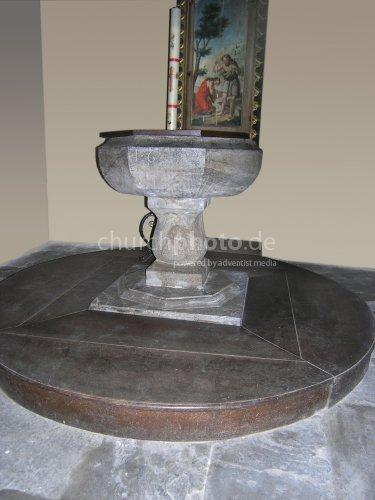 baptisterium in Aosta