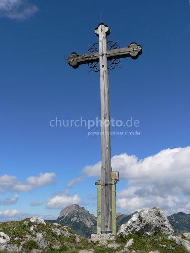 Verwittertes Kreuz