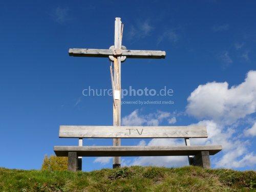 Kreuz auf dem Gitschberg 2011 -