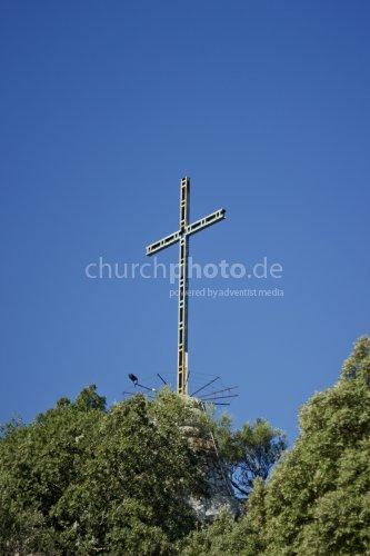 Kreuz auf Berg