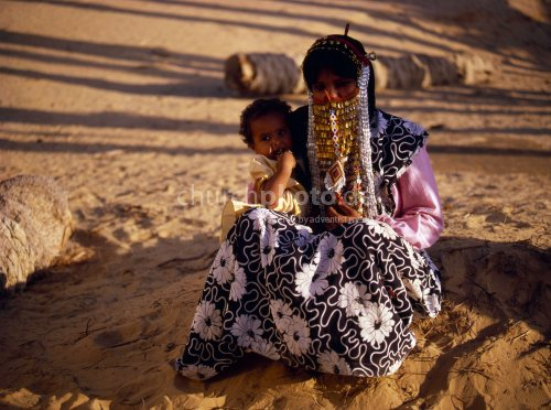 Bedouine woman