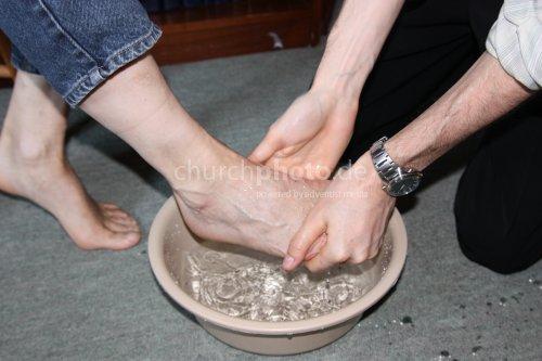 Foot Washing 2