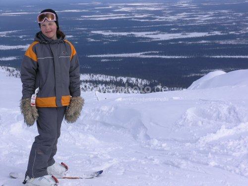 Girl in Lapland