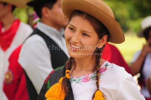 Typical clothes of Bolivia
