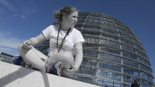 Reichstagstouristin