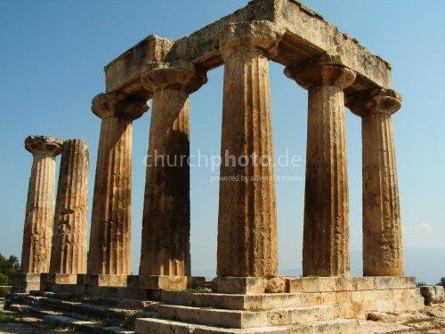 Tempel in Korinth 2