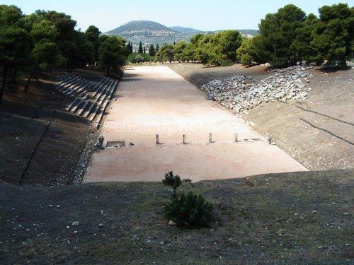 Antike Sprintstrecke in Epidaurus