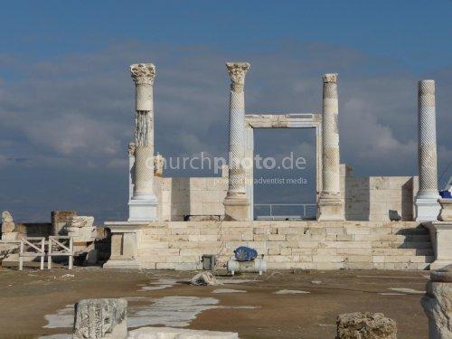 Laodicea, Tempel