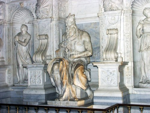 statue of Moses
