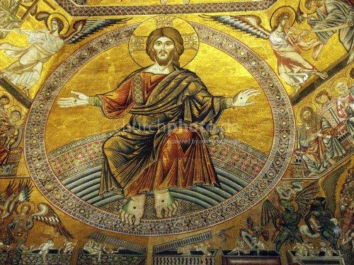 Jesus with stigmata
