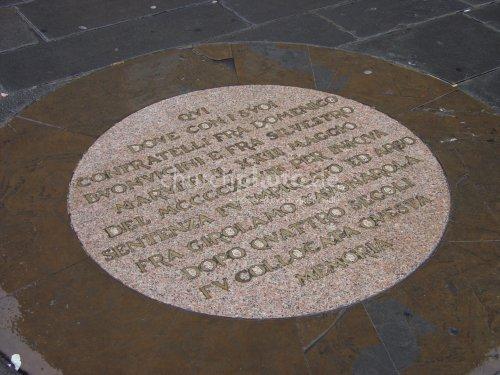 Inscription Savonarola