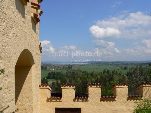 Burgmauer - castle wall