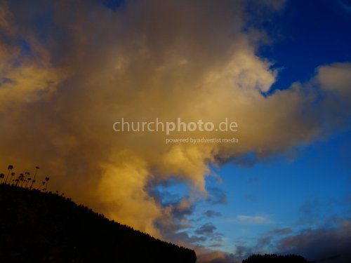 Wolkenformation - cloud formation