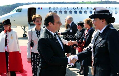 Präsident Hollande u. Sommaruga