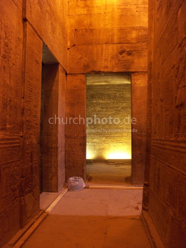 Inside the Horus temple