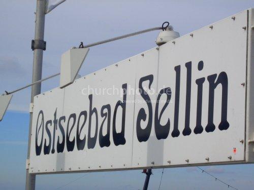 Schild Seebad Sellin