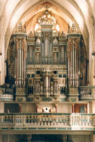 Organ Erfurt Predigerkirche