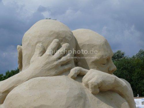 Freundschaft - aus Sand gebaut