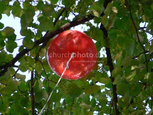 Luftballon auf Abwegen
