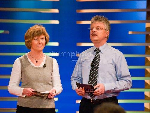 Bettina Werner und Friedbert Hartmann
