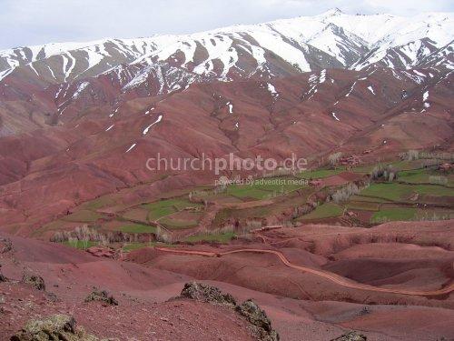 Afghan mountains