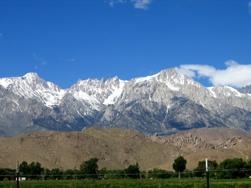 Lone Pine mountens highest Point in Amerika