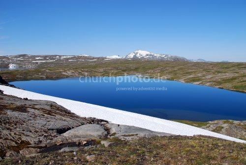 Norwegisches Bergmassiv