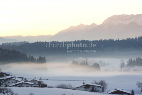 Winter fog / Winternebel
