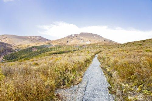 Weg auf den Berg