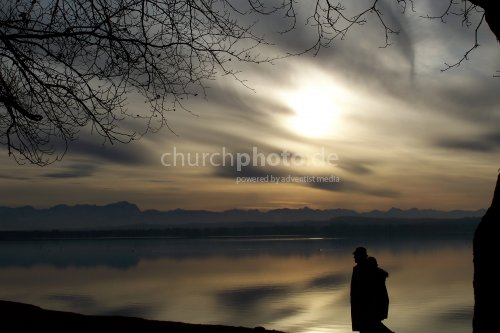 Abendstimmung beim Starnberger See
